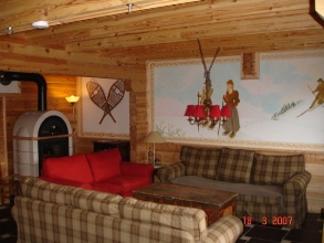 Location La Plagne : Le salon