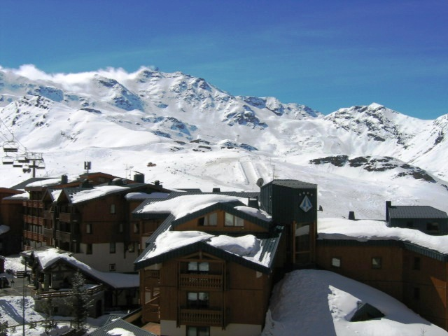 Location Val Thorens : Vue du balcon