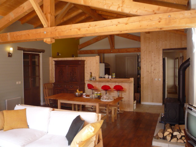 Location Peisey-Nancroix-Vallandry : Salon sejour