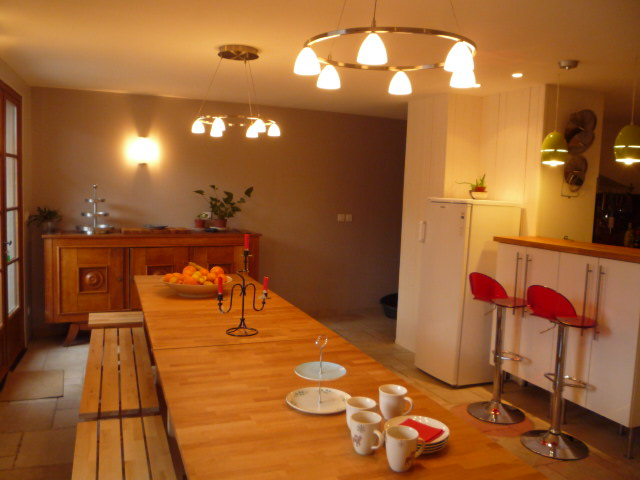 Location Peisey-Nancroix-Vallandry : Salle a manger