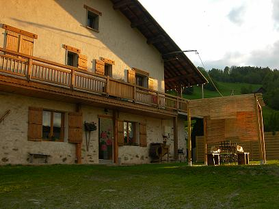 Location Areches-Beaufort : LA FERME DE MARCHEUL