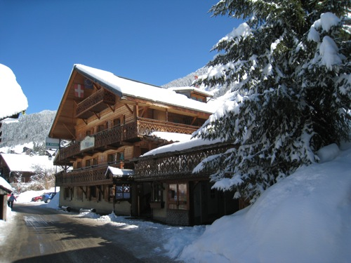 Location Chatel : le chalet