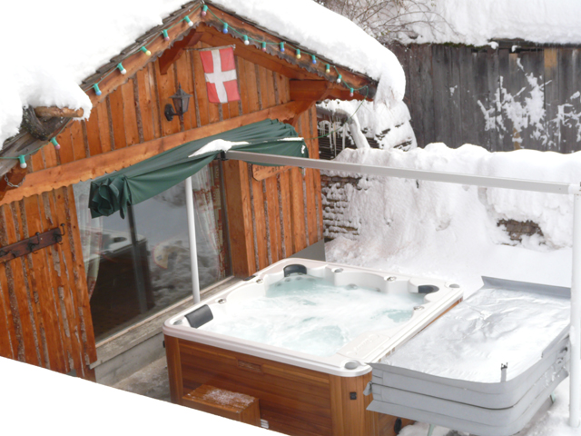 Location Chatel : le spa 6 pers