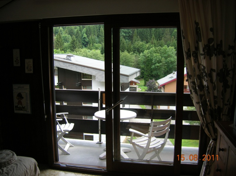 Location Chatel : balcon