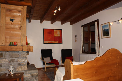 Location Areches-Beaufort : le salon