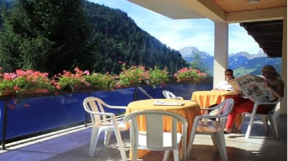 Location Chatel : terrasse Panoramic