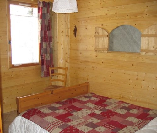 Location Bessans : chambre 2 couchages