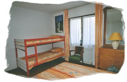 Location Orcieres-Merlette : chambre